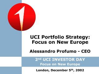 Alessandro Profumo - CEO