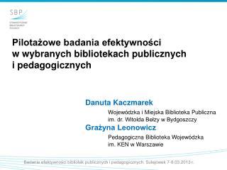 Danuta Kaczmarek