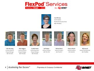 FlexPod Services by Avnet   March 15, 2012 QBR