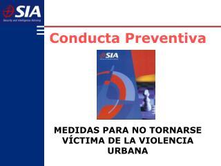 Conducta Preventiva