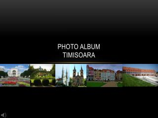 Photo Album TIMISOARA