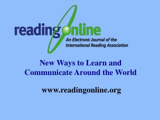 New Ways to Learn and Communicate Around the World