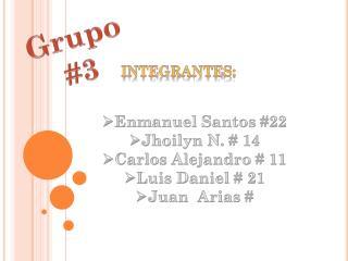 Grupo  #3