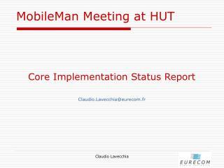 MobileMan Meeting at HUT