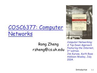 COSC6377: Computer Networks