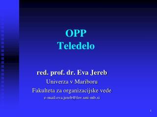 OPP Teledelo