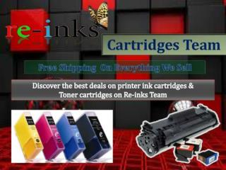 Printer Ink and Toner Printer Cartridges