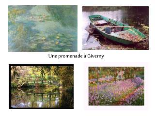 Une promenade à Giverny