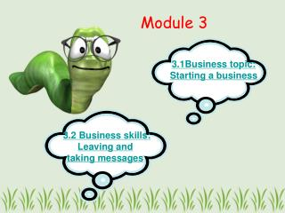 3.1Business topic: Starting a business