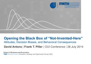 "Opening the Black Box of ""Not-Invented-Here"""