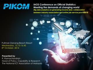 THE NATIONAL ICT ASSOCIATION OF MALAYSIA