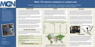 TBNet- TB treatment completion on a global scale