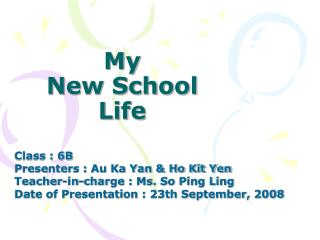 My New School Life