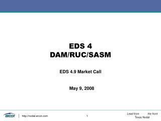 EDS 4  DAM/RUC/SASM