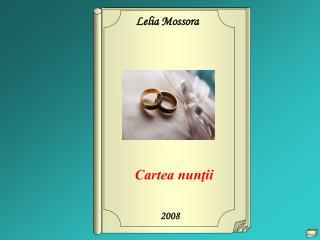 Cartea nunţii