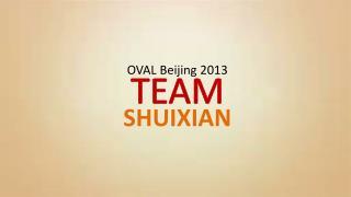 OVAL Beijing 2013