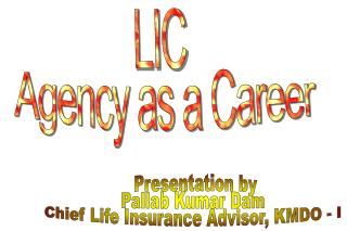 LIC   Agency as a Career