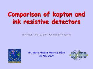 D. Attié, P. Colas, M. Dixit, Yun-Ha Shin, R. Woods TPC Tests Analysis Meeting, DESY  28 May 2009