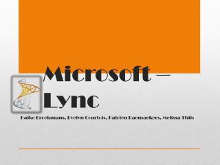 Microsoft – Lync