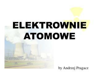 ELEKTROWNIE ATOMOWE