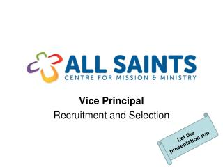 Vice Principal Recruitment and Selection