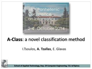 A-Class : a novel classification method