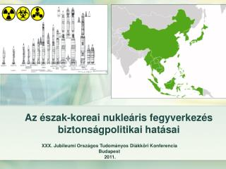 Az észak-koreai nukleáris fegyverkezés biztonságpolitikai hatásai