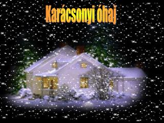 Karácsonyi óhaj
