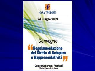 Foto Convegno Diritto di Sciopero   Roma 24.06.2009