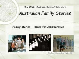 EDU 31ACL   Australian Children s Literature  Australian Family Stories