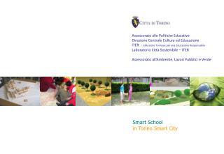 Assessorato alle  Politiche Educative  Direzione Centrale Cultura ed Educazione