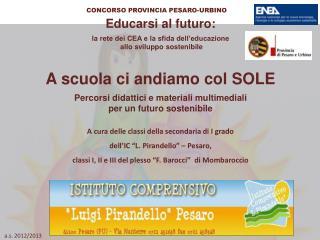 Educarsi al futuro: la rete dei CEA e la sfida dell'educazione  allo sviluppo sostenibile