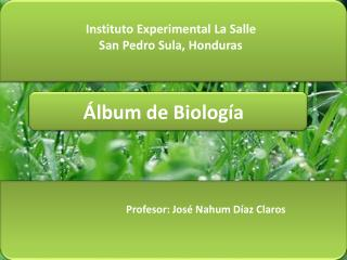 Álbum de Biología