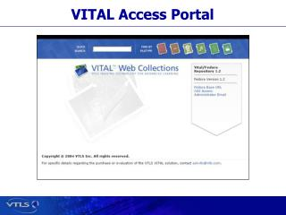 VITAL Access Portal