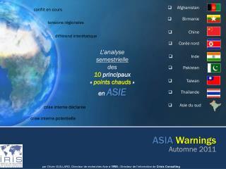 ASIA Warnings