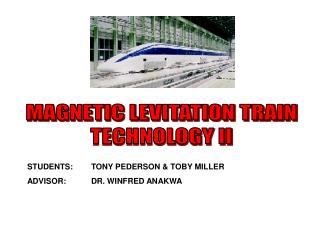 MAGNETIC LEVITATION TRAIN TECHNOLOGY II