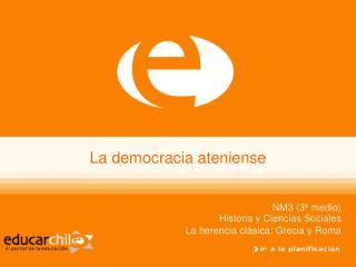La democracia ateniense