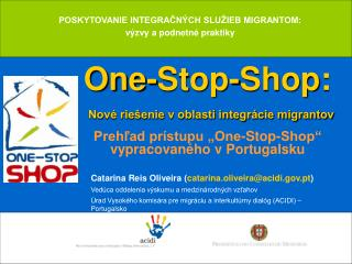 One-Stop-Shop: Nové riešenie v oblasti integrácie migrantov