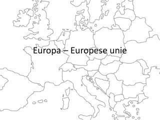 Europa – Europese unie