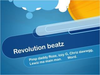 Revolution  beatz