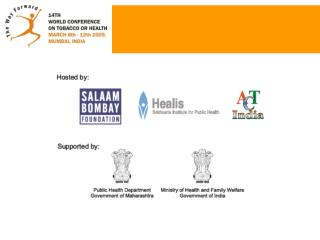 Announced on September 14th 2006 by  Hon�ble Minister of Health-Shri Ambumani Ramadoss and