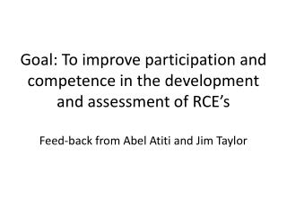 How do we strengthen self assessment and peer review?