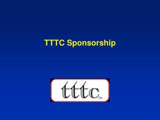 TTTC Sponsorship
