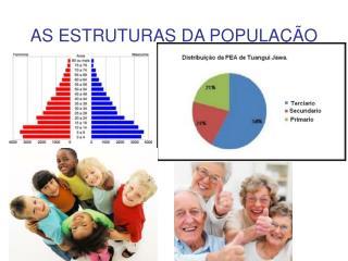 AS ESTRUTURAS DA POPULAÇÃO