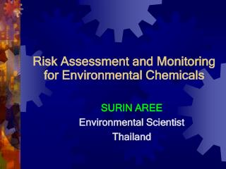 Risk Assessment and Monitoring for Environmental Chemicals