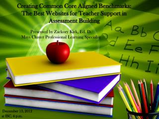 Presented by Zackory Kirk, Ed. D. Mays Cluster Professional Learning Specialist