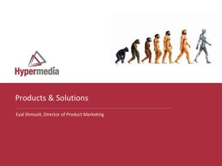 Products & Solutions