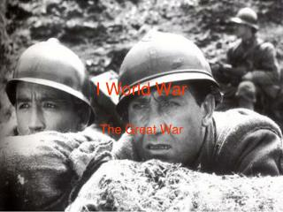 I World War