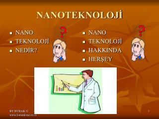 NANOTEKNOLOJİ
