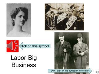 Labor-Big Business